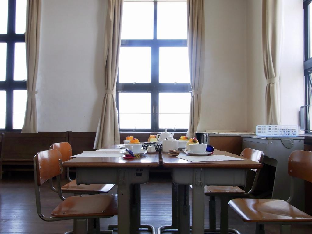 皆が作り上げたテーブル2。