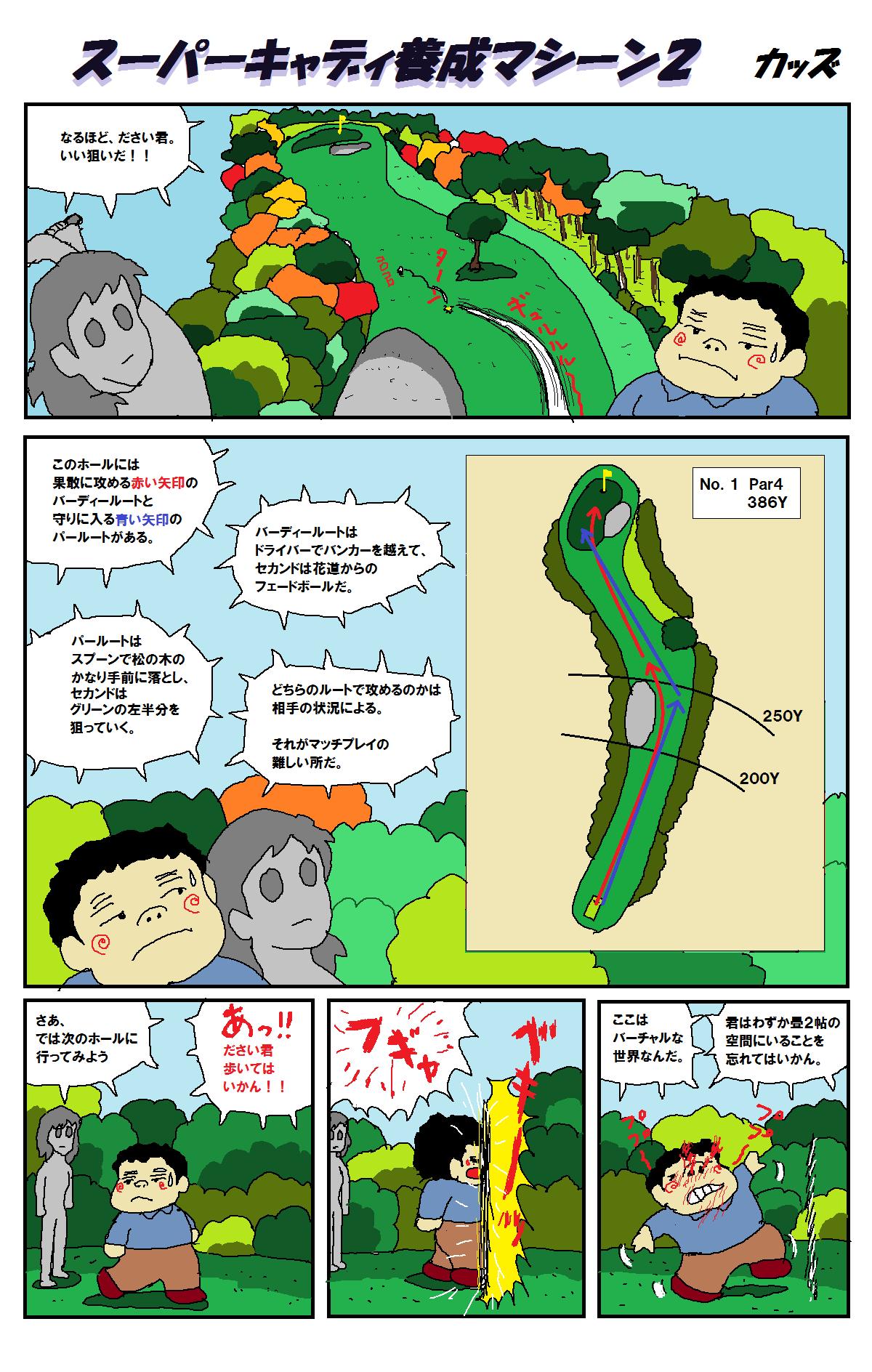 スーパーキャディ養成マシーン2