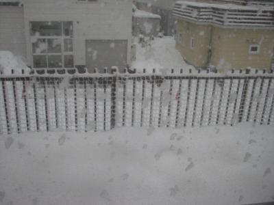 2010年1月2日吹雪