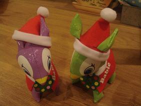 クリスマスのバンビちゃん♪