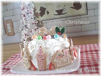 2009 クリスマスケーキ