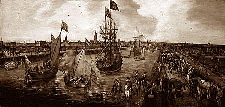 アムステルダム風景画