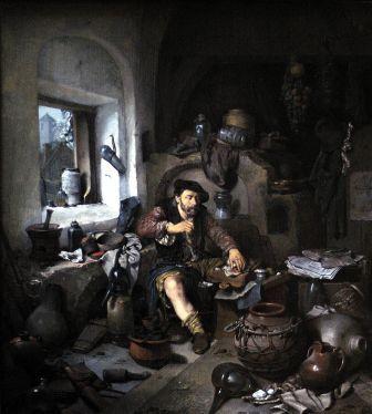 オランダ絵画錬金術
