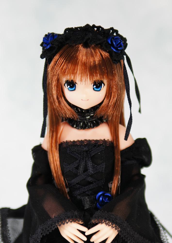 シフォンドレス青薔薇 マヤ1