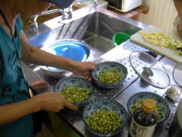 雑穀料理教室2