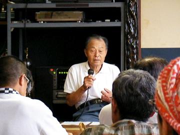 後藤さんの講演