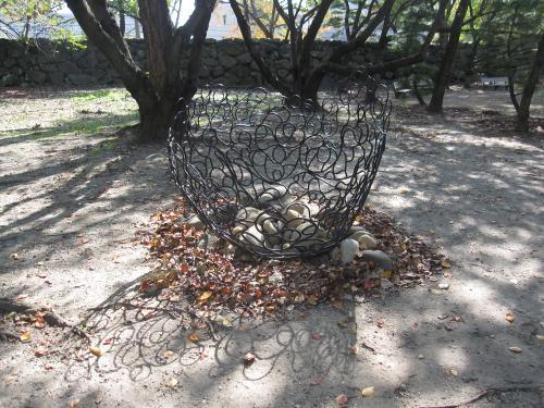 第47回 徳島彫刻集団 野外彫刻展-4