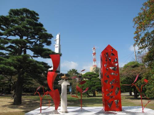 第47回 徳島彫刻集団 野外彫刻展-5