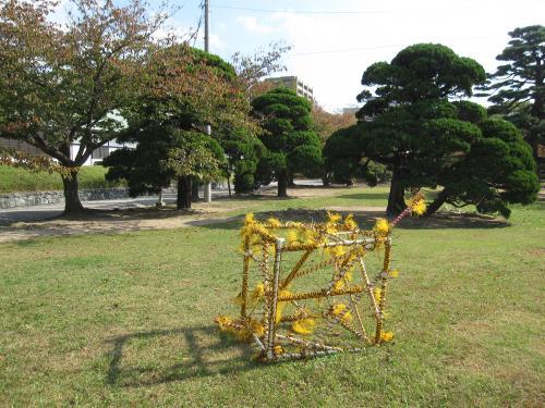 第47回 徳島彫刻集団 野外彫刻展-10