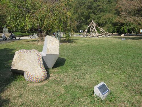 第47回 徳島彫刻集団 野外彫刻展-11