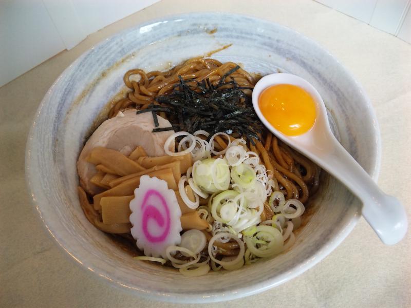 麺彩房 五反田 あぶらそば(黒)②