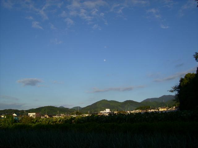 富士と月21