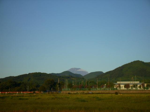 早朝の富士山15