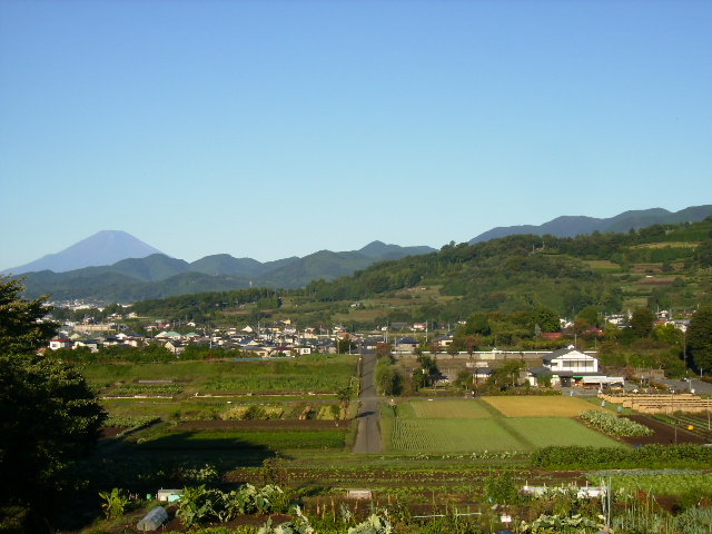 秋富士と田原盆地64
