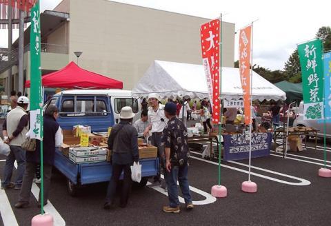 上野町商進会野菜売り場