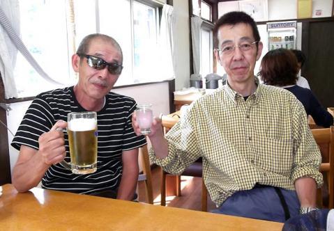 荒巻師匠と富田