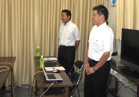 黒澤先生と石原先生