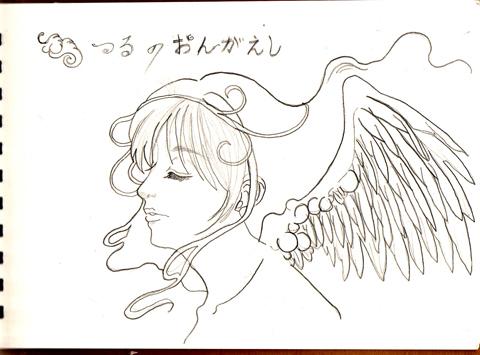 鶴の女の子(//^-^//)