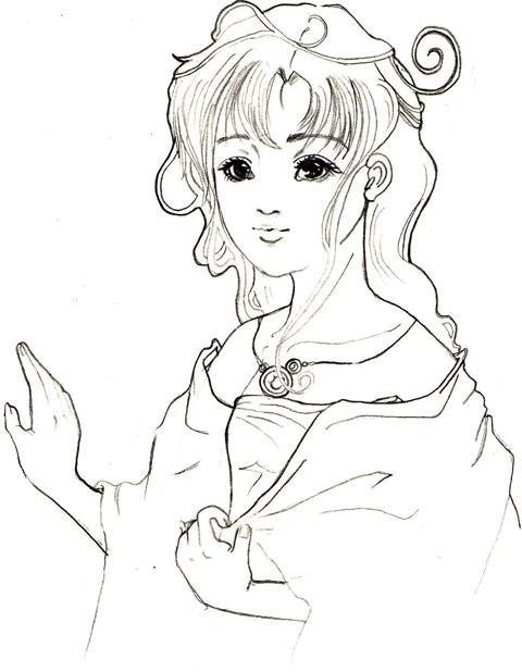 横顔(//^-^//)