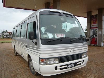 マプト発のバス