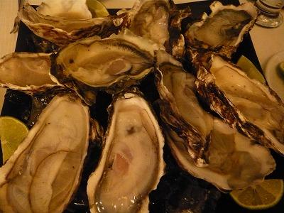 カンクンで牡蛎