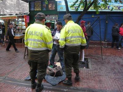 ボゴタの警察