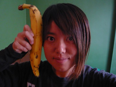 巨大バナナ@ボゴタ
