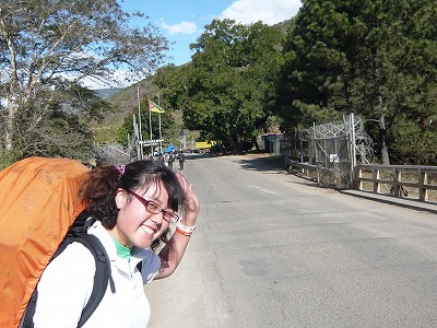 モザンビーク出国