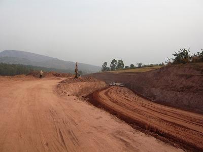 タンザニア~ブルンジ国境