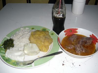 ウガンダご飯