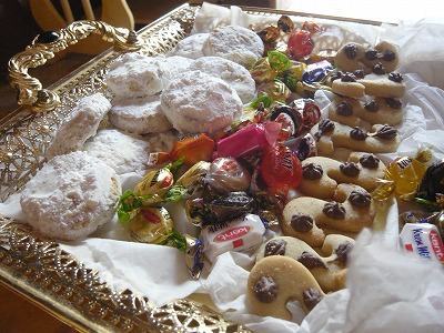 スーダン代表奥さんお手製のお菓子2