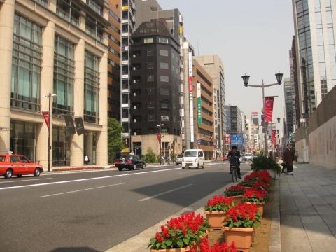 中央通り・日本橋室町