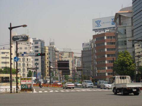 浅草橋交差点
