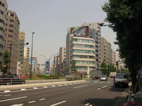江戸通り・蔵前