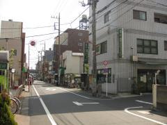 日光街道と大師道の分岐点