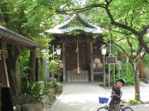 千住本氷川神社旧社殿
