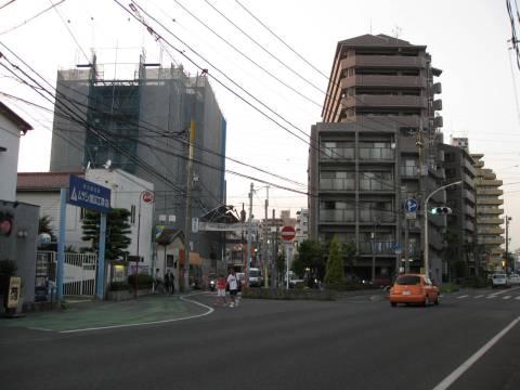 旧日光街道・草加宿入口