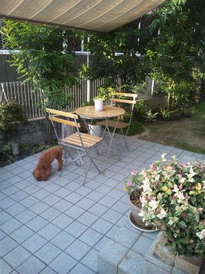 ガーデンテーブル4