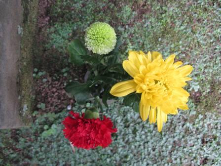 仏像の花2