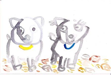 ミウとココ2009年10月13日 小