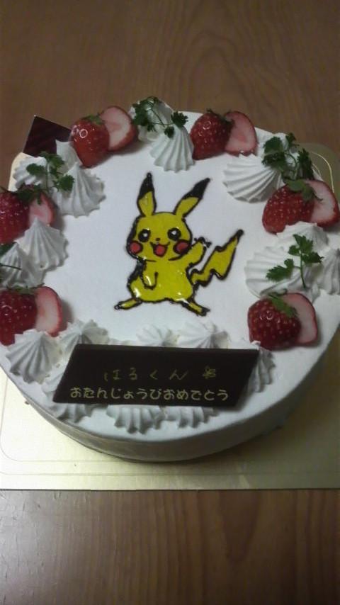ピカチュウ ケーキ