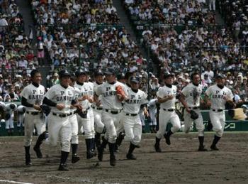 絵日記8・15高校野球6日