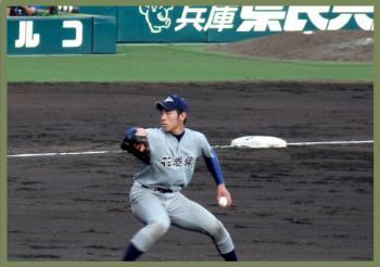 絵日記8・17高校野球3