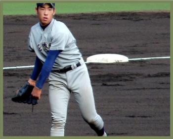 絵日記8・17高校野球7