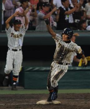 絵日記8・19高校野球10日目