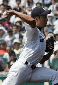 絵日記8・23高校野球14日4