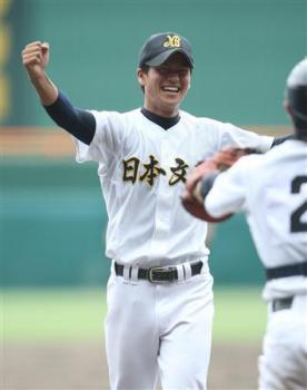 絵日記8・23高校野球14日3