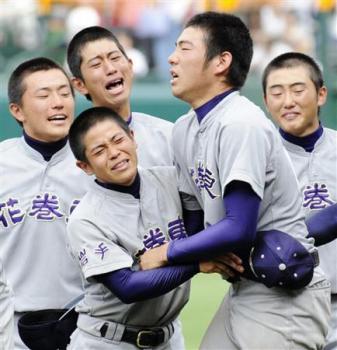 絵日記8・23高校野球14日2