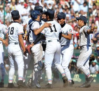 絵日記8・24高校野球優勝1