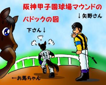 絵日記・馬